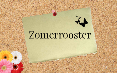 Zomerrooster voor Reviews & Roses