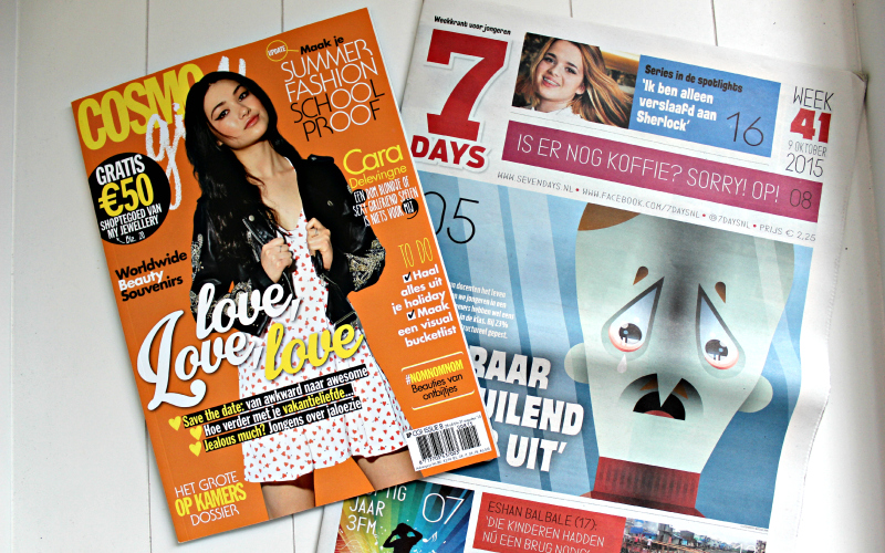 Best of YA Sleepover - Goodiebag 7Days en Cosmopolitan
