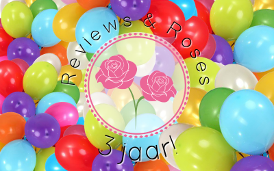 13 Days of Celebration – Reviews & Roses 3 jaar!