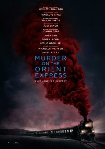 Murder on the Orient Expres poster