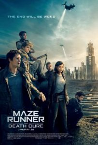 Maze Runner The Death Cure poster