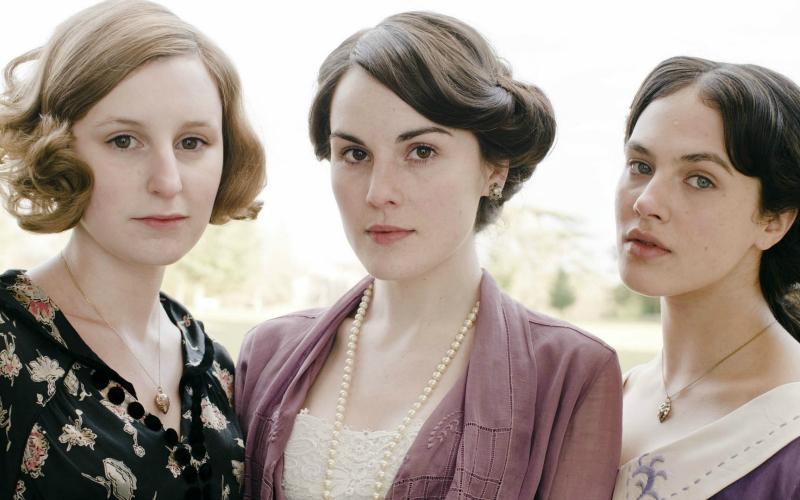 Downton Abbey sisters