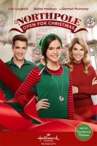 Northpole Open for Christmas poster