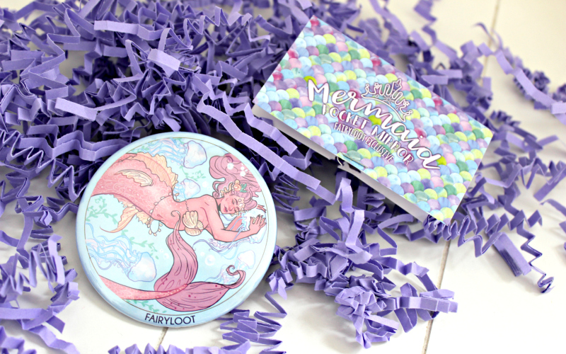 Mermaid Pocket Mirror van Book Otter