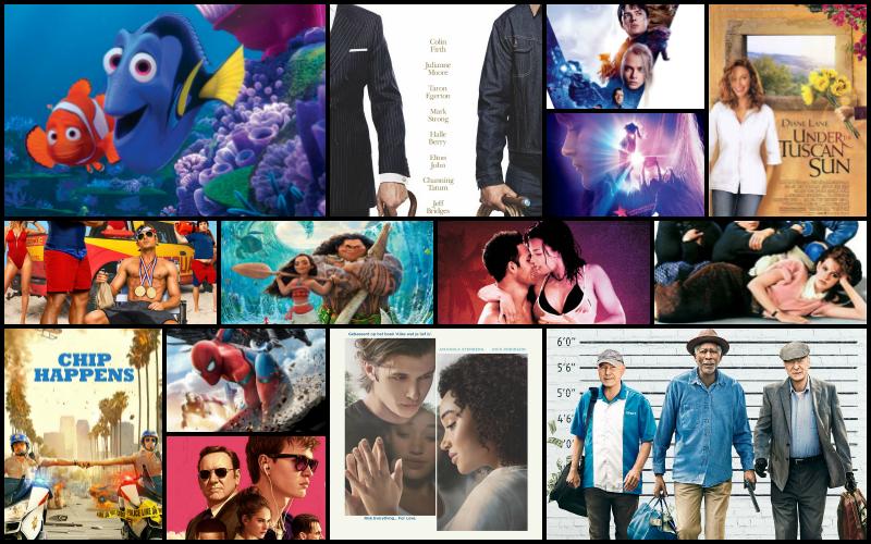 Deze films keek ik in juli augustus september