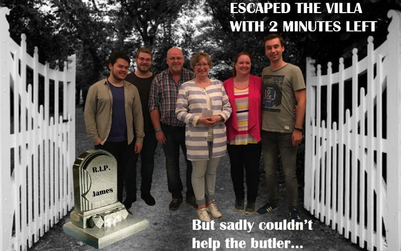 Escape the Villa