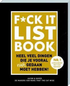 Boekrecensie   F*CK-it list book
