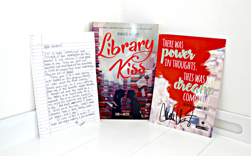 Library Kiss - Kasie West