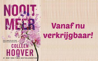 Boekrecensie   Nooit Meer – Colleen Hoover