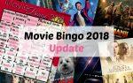 Movie Bingo 2018 update