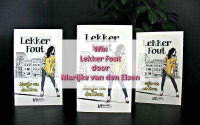 Winactie | 2x Lekker Fout door Marijke van den Elsen {Afgelopen}