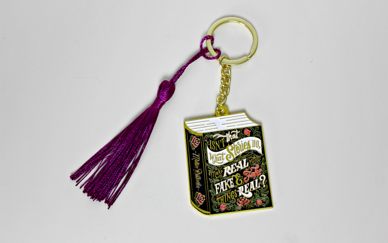 Stories Keychain