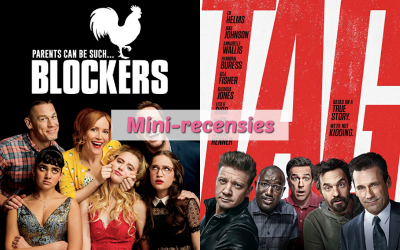 Mini-recensies #10 | Blockers & Tag